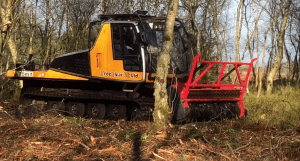 TreeClear UK's low ground pressure mulcher